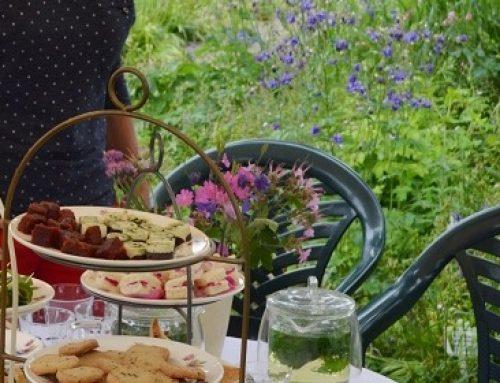 High tea in de zomertuin: proef de planten