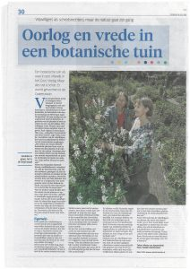 Artikel Costerustuin Gooi- en Eemlander 16 juli 2016