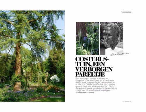 De Costerustuin in Tuinseizoen magazine